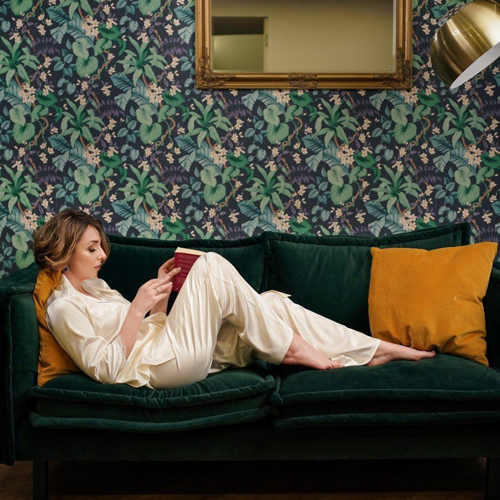 Pijamale din satin damă